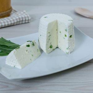 formaggio fresco alla rucola