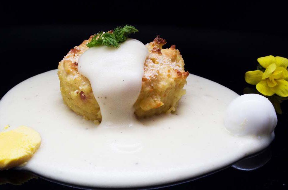 sformato di patate e mozzarella
