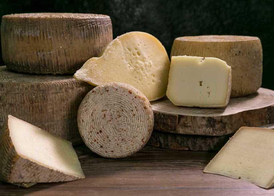 tipi di formaggi