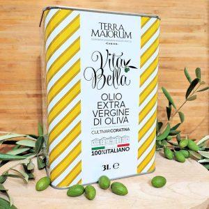 Olio Extra Vergine di Oliva in lattina da 3 o 5 litri