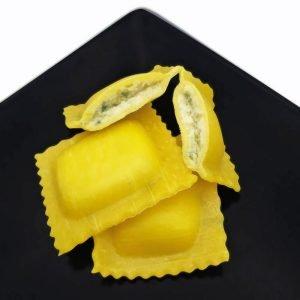 Agnolotti ripieni di ricotta e spinaci