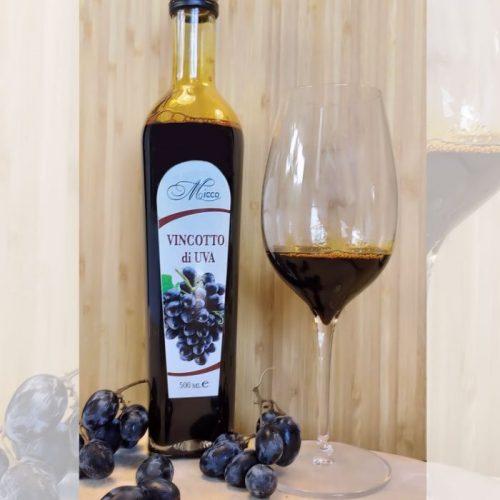vino cotto estratto da uva pugliese